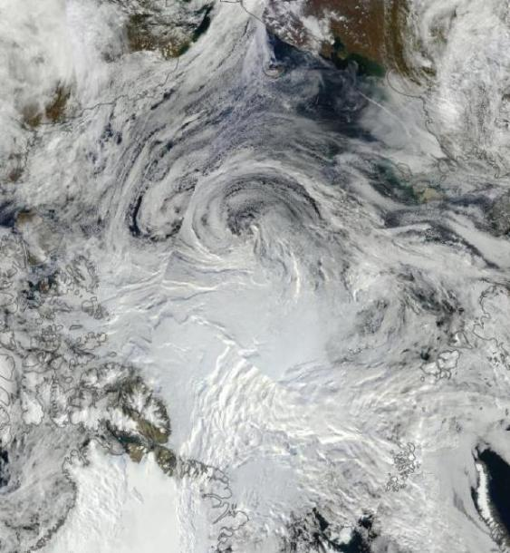 Arctic Ocean September 1, 2012